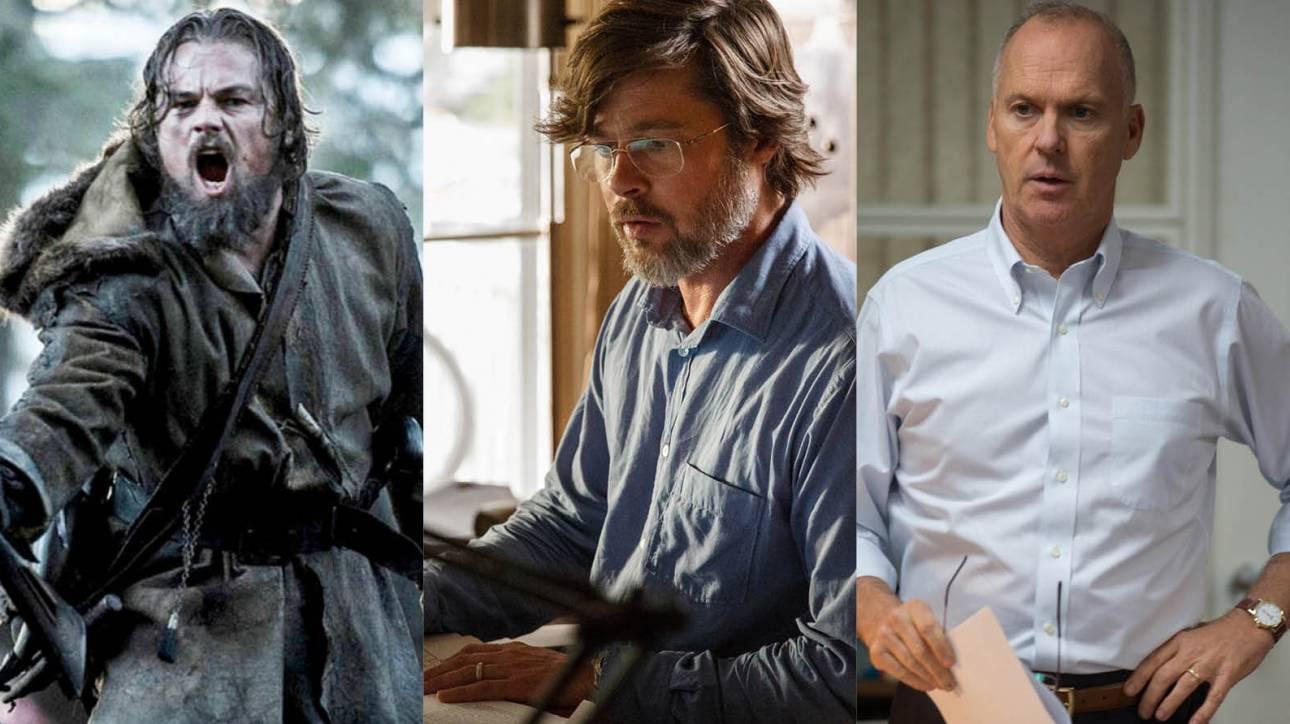 Όσκαρ 2016: Οι παράγοντες του Χόλιγουντ δείχνουν τα τρία φαβορί για το Βραβείo Kαλύτερης Ταινίας