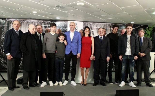 zidane family
