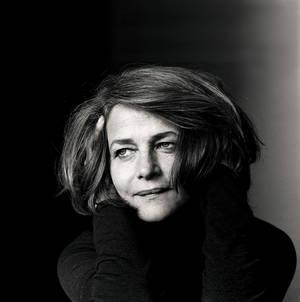 H Σαρλότ Ράμπλινγκ φωτογραφημένη από τον Irving Penn για το περιοδικό Vogue