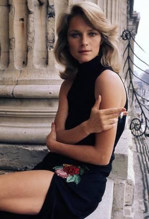 H Σαρλότ Ράμπλινγκ στο Παρίσι το 1974