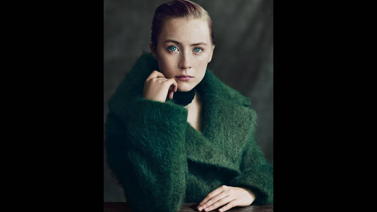H Saoirse Ronan φωτογραφημένη από τον Paolo Roversi για τους New York Times