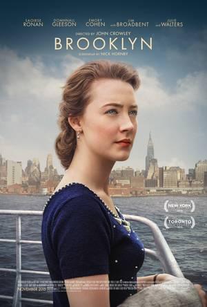 Η Saoirse Ronan στο poster της ταινίας Brooklyn