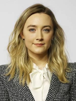 H Saoirse Ronan στο photocall της ανακοίνωσης των υποψηφίων για τα φετινά Όσκαρ
