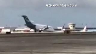 Επεισοδιακή προσγείωση: Αεροπλάνο προσγειώνεται με τη «μύτη»