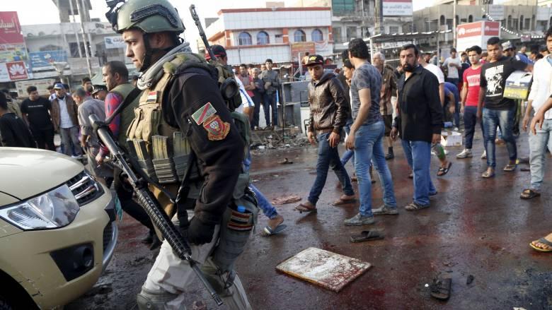 Στους 70 οι νεκροί από την επίθεση του Ισλαμικού Κράτους στη Βαγδάτη