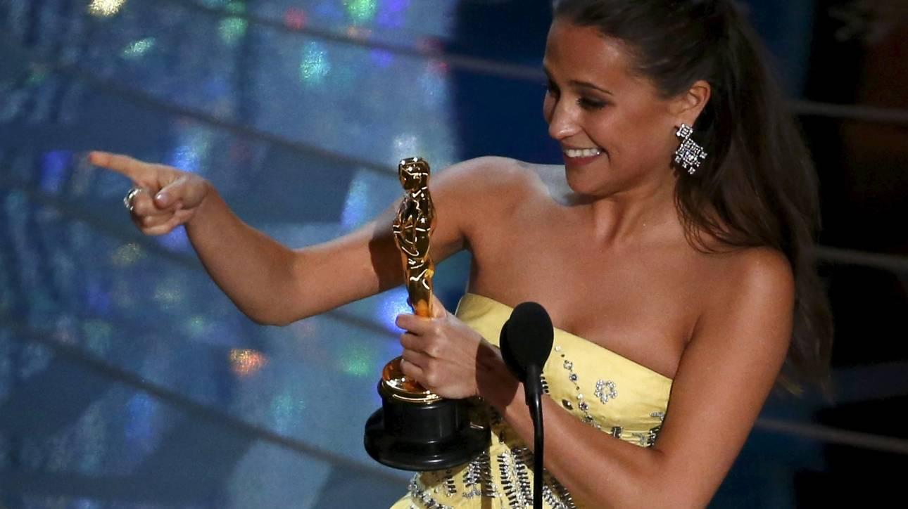 Όσκαρ 2016: Η Αλίσια Βικάντερ νικήτρια του Β' Γυναικείου Ρόλου για το The Danish Girl