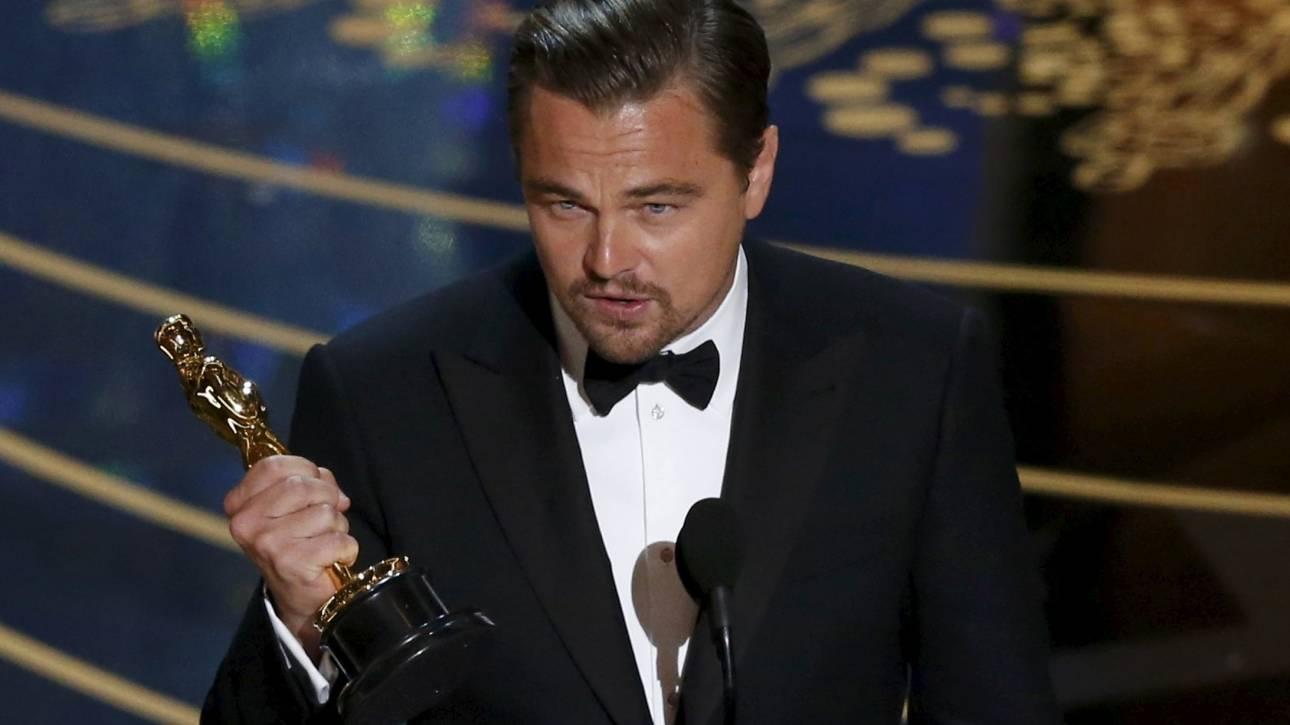 Όσκαρ 2016: Ο Λεονάρντο ΝτιΚάπριο επιτέλους κέρδισε το Όσκαρ Α' Ανδρικού Ρόλου