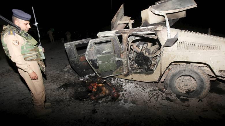 Επίθεση αυτοκτονίας με δεκάδες νεκρούς και τραυματίες στο Ιράκ από το Ισλαμικό Κράτος