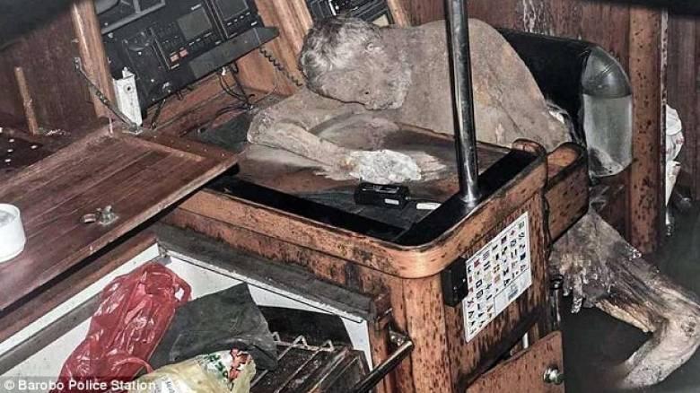 Μουμιοποιημένο πτώμα βρέθηκε σε ακυβέρνητο σκάφος στις Φιλιππίνες