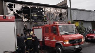 Καστελλόριζο: Πυρκαγιά σε κτίριο όπου φυλάσσονταν είδη πρώτης ανάγκης για τους προσφυγες