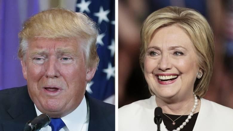 Σούπερ Τρίτη: Αδιαμφισβήτητα φαβορί Κλίντον και Τραμπ