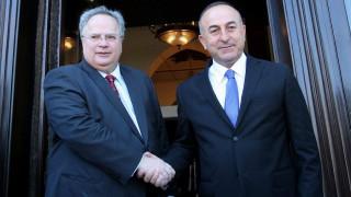 Επίσκεψη του Τούρκου ΥΠΕΞ στην Αθήνα