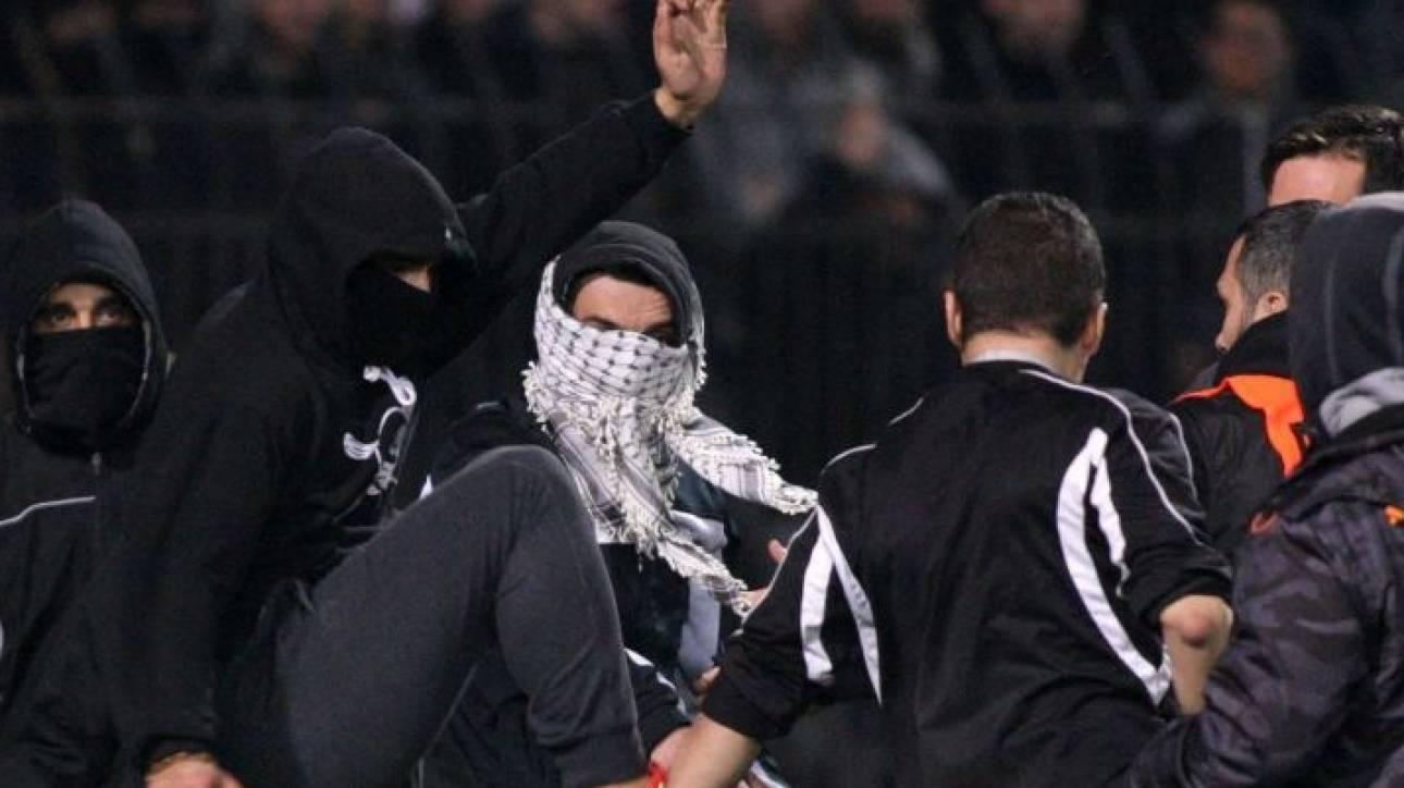 Δεκαπέντε συλλήψεις για τα επεισόδια στο ΠΑΟΚ-Ολυμπιακός