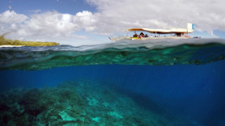 Lady Elliot: Ένα καταδυτικό πάρκο γεμάτο κοράλλια