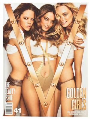 Freja Beha, Daria Werbowy & Gemma Ward, V41.