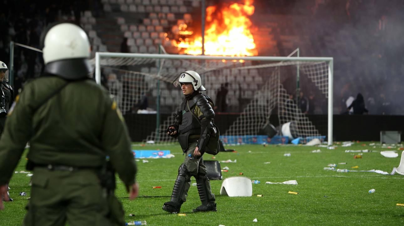 Η Ελλάδα της παρακμής αδυνατεί να διεξάγει ακόμη και ένα ποδοσφαιρικό αγώνα