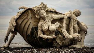 """To πρώτο βραβείο της Saatchi Gallery στους """"Mετανάστες"""" των μαθητών της Κύπρου"""