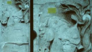 Ο Μ.Αλέξανδρος απεικονίζεται  σε ανάγλυφο της Αμφίπολης