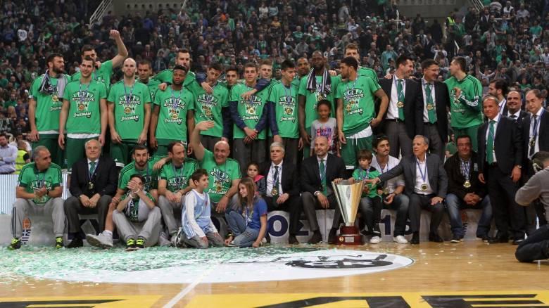 Κυπελλούχος Ελλάδας στο μπάσκετ στέφθηκε ο Παναθηναϊκός νικώντας 101-54 τον Φάρο Κερατσινίου.