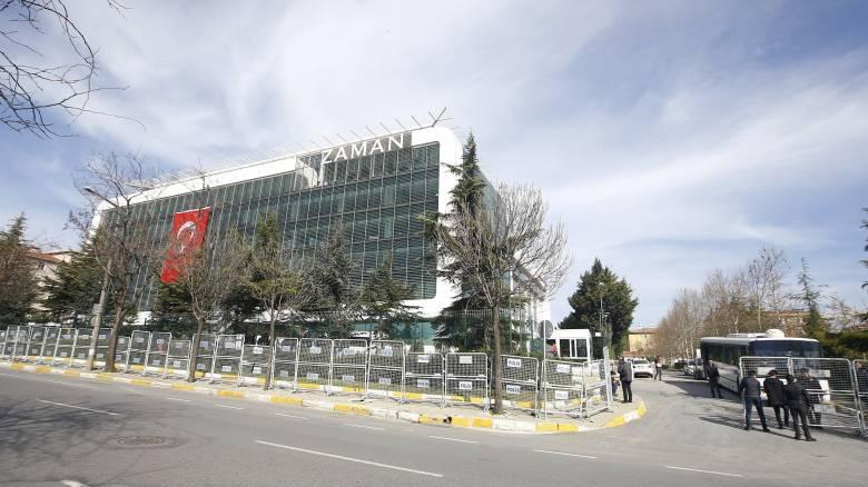 Σαφώς φιλοκυβερνητική στάση τηρεί η εφημερίδα Zaman αφότου τέθηκε υπό κηδεμονία