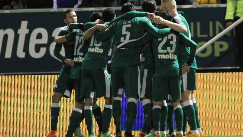 Ο Παναθηναϊκός κέρδισε τον Ατρόμητο 2-0 σε ματς που ξαναφόρεσε τα «πράσινα» ο Λέτο