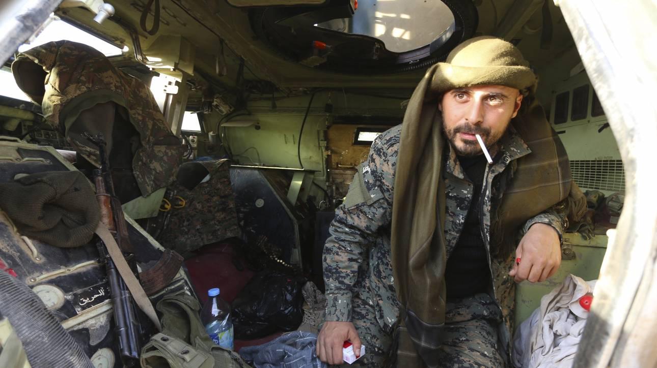 Δύο αμερικανικές βάσεις έχουν στηθεί στη B. Συρία, λένε οι Κούρδοι