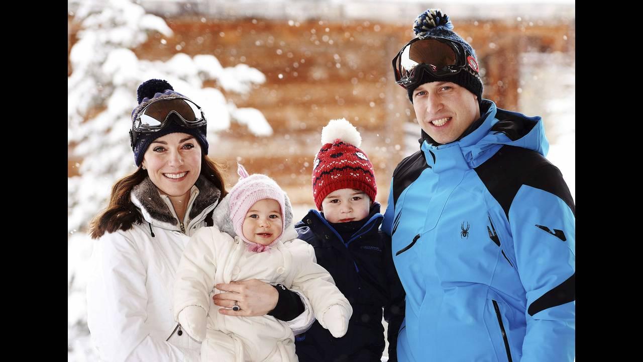Το πρώτο οικογενειακό πορτρέτο της πριγκιπικής οικογένειας σε διακοπές.
