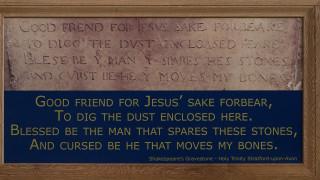 To Channel 4 «ακτινογραφεί» τον τάφο του Ουίλιαμ Σαίξπηρ
