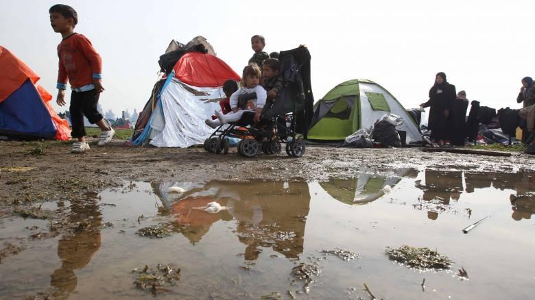 Προσφυγικό: Απελπιστική η κατάσταση στην Ειδομένη, παραμένουν κλειστά τα σύνορα