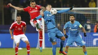 Η Μπενφίκα απέκλεισε την Ζενίτ μέσα στην Ρωσία στην φάση των 16 του Champions League