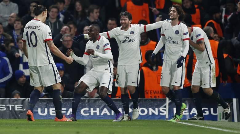 Champions League: Η Παρί σεν Ζερμέν πέρασε από το Λονδίνο και την Τσέλσι