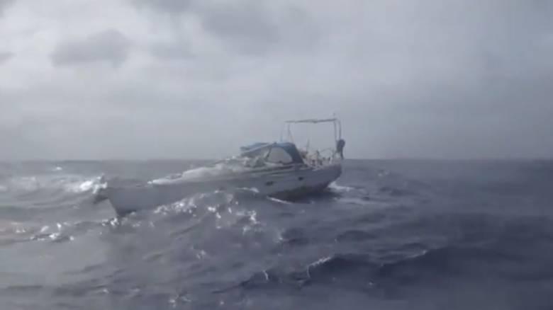 Αφέθηκε έρμαιο από τις αρχές το σκάφος με το μουμιοποιημένο πτώμα