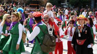 Ξεφάντωμα στο Καρναβάλι της Πάτρας