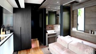 Διαμέρισμα 28 τ.μ με γυμναστήριο, αποθήκη, home cinema και ξενώνα; Είναι εφικτό!