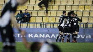 Πέρασε με νίκη 3-0 ο ΠΑΟΚ από την έδρα του Παναιτωλικού που θύμιζε λίμνη
