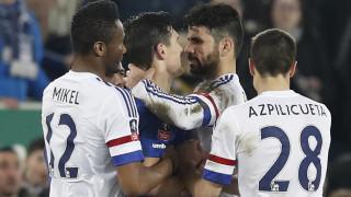 Απίστευτη αποβολή για τον Ντιέγκο Κόστα που φαίνεται να δαγκώνει αντίπαλο του στο Κύπελλο