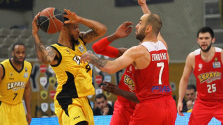 Ντέρμπυ ΑΕΚ-Ολυμπιακού από τα παλιά στην Α1 του μπάσκετ με νικητές στο τέλος τους ερυθρόλευκους