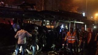 Συγκλονιστικές εικόνες από την έκρηξη στην Άγκυρα
