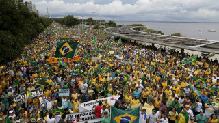 Βραζιλία: Mεγάλες αντικυβερνητικές διαδηλώσεις