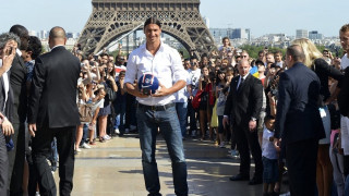 """Ο Πύργος του Άιφελ """"απάντησε"""" στον Ιμπραΐμοβιτς για το ποιος θα είναι το σύμβολο της Γαλλίας"""