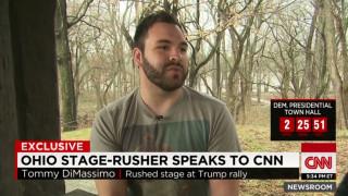 Μιλά στο CNN o 22χρονος που προσπάθησε να διακόψει την ομιλία του Τραμπ στο Οχάιο