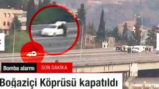 Έρευνες σε ύποπτο όχημα στη γέφυρα της Κωνσταντινούπολης