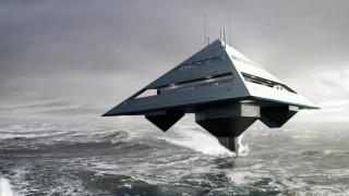 Tetrahedron Super Yacht: Το πολυτελές γιοτ που πετάει