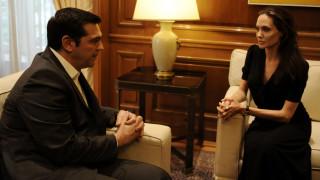 Τι είπαν ο Αλέξης Τσίπρας με την Αντζελίνα Τζολί στο Μέγαρο Μαξίμου