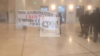 Το αποκλειστικό βίντεο του CNN Greece στα τηλεοπτικά δελτία