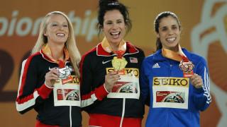Το χάλκινο μετάλλιο στο Παγκόσμιο κλειστού στίβου για την Κατερίνα Στεφανίδη στο επί κοντώ