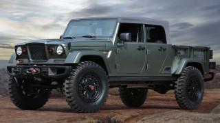 H επόμενη γενιά του Jeep Wrangler θα έχει και έκδοση πικ-απ