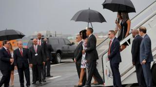 Ο Μπαράκ Ομπάμα αφίχθη στην Κούβα (pics)