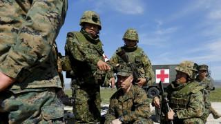 Αμερικανοί πεζοναύτες στο Ιράκ στο πλαίσιο επιχειρήσεων κατά του ISIS