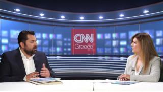 O Γ.Γ. Ενημέρωσης και Επικοινωνίας, Λευτέρης Κρέτσος στο CNN Greece